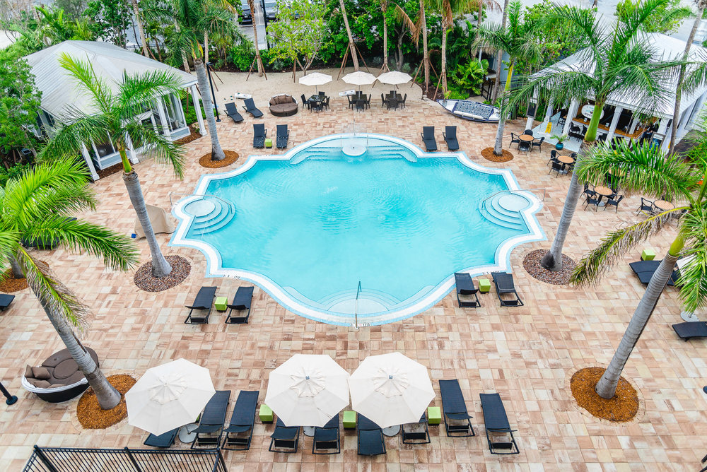 24 north hotel key west pool