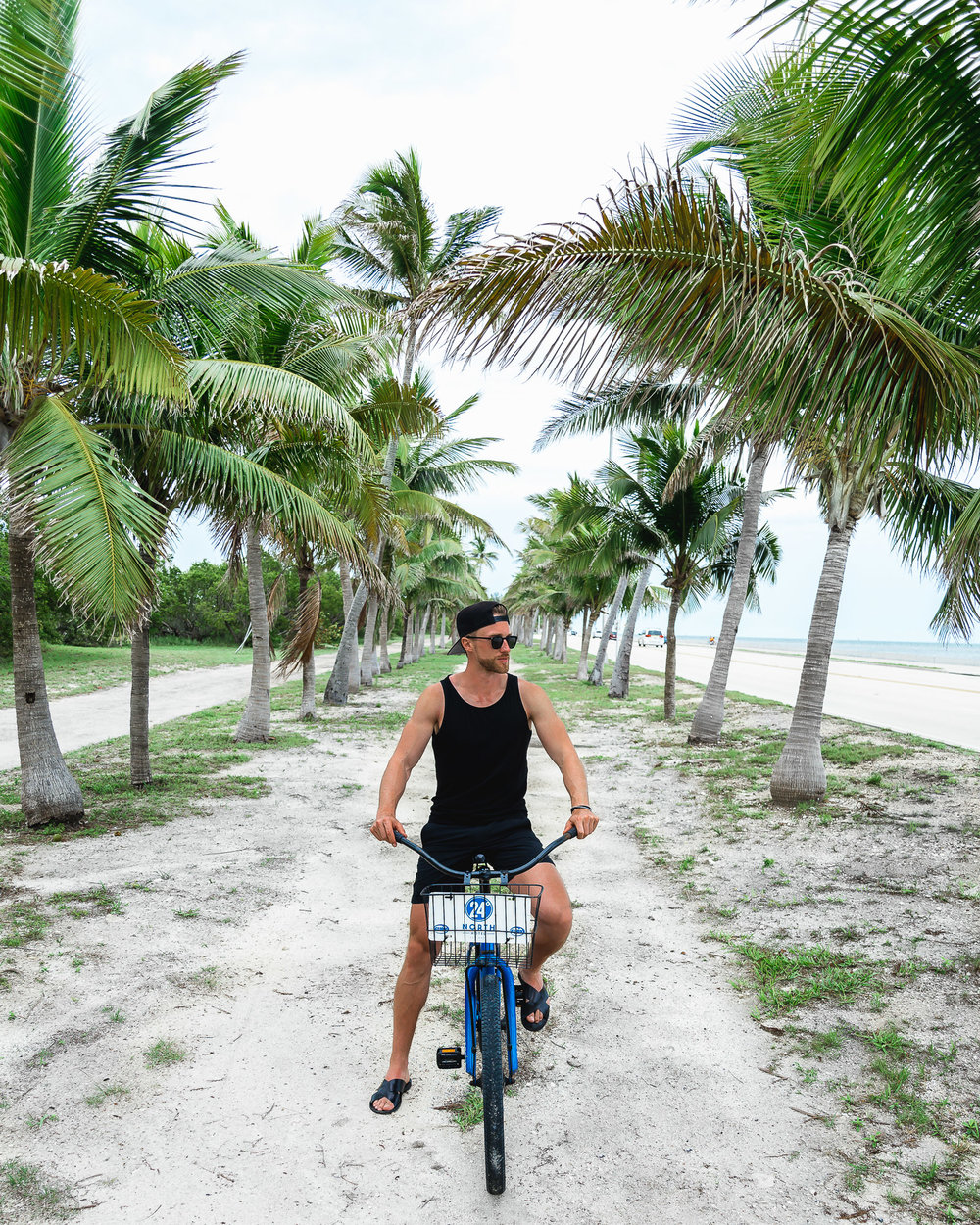 24 north hotel key west bike smathers beach