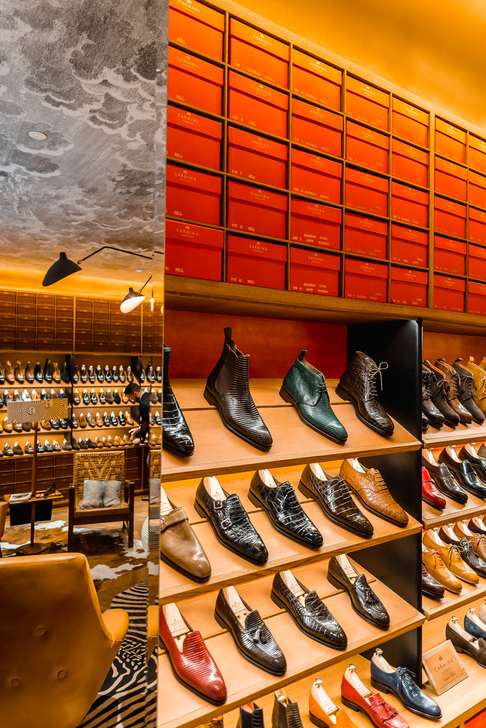 carmina shoemaker store nyc midtown manhattan