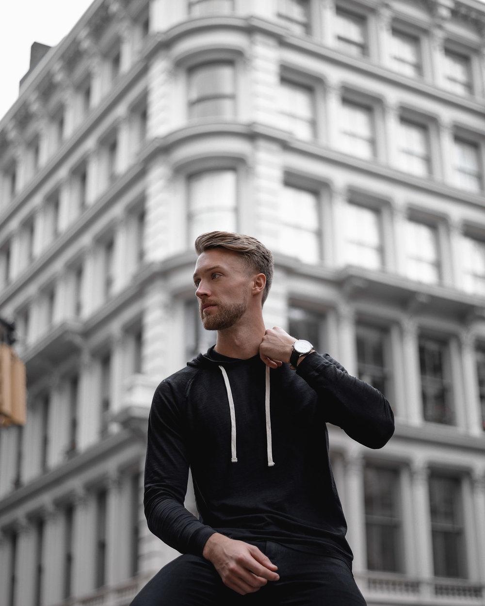 sharply nyc hoodie
