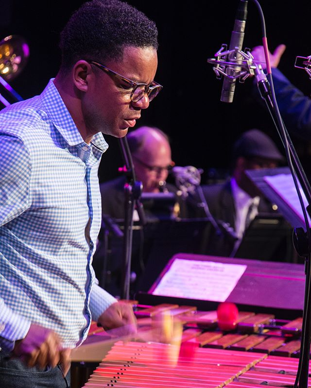Moments from An Evening With Stefon Harris Photos by Eric Smith  #bijoutheatre #stefonharris #knoxvillejazzorchestra #knoxville #knoxrocks #865life