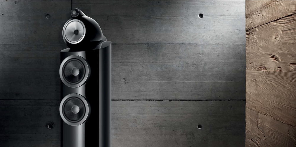 B&W 802 D3 - pristine, high-performance sound in any environment