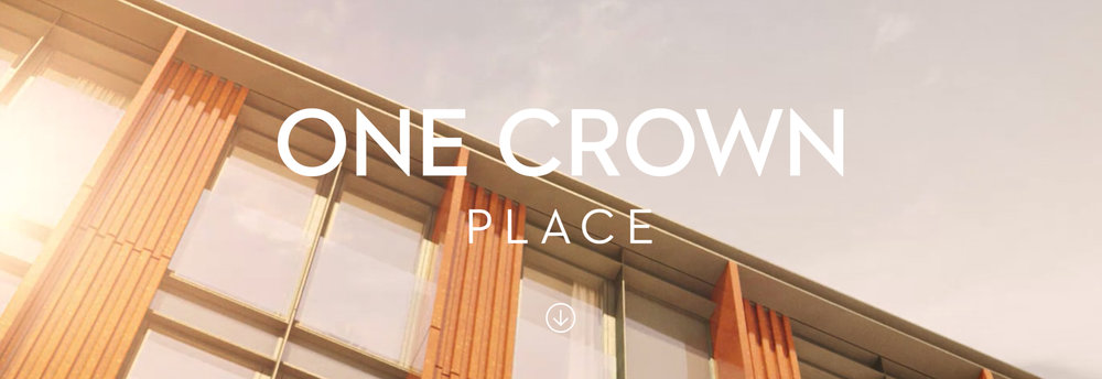 one crown place banner