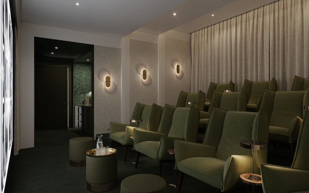 screening room - one crown place