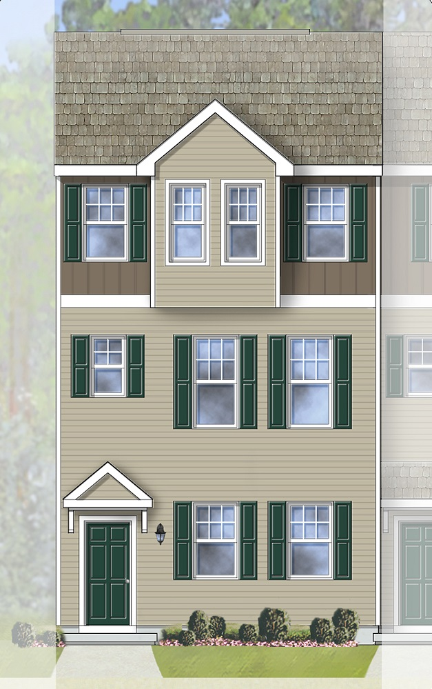 Addison Devonshire Townhome Tidbury Crossing By