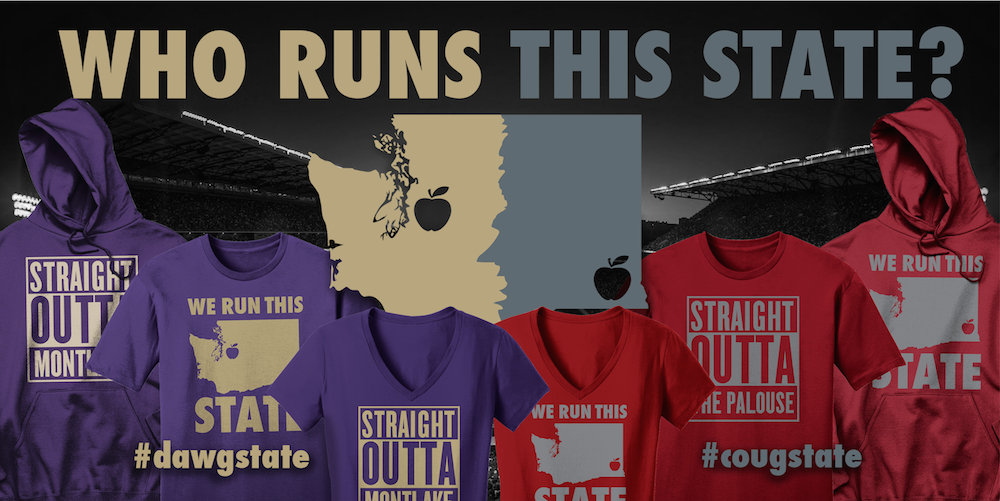 Exclusive 2015 Apple Cup Gear