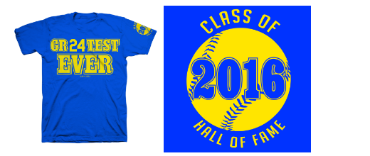Seattle Mariners Class of 2016 T-shirt