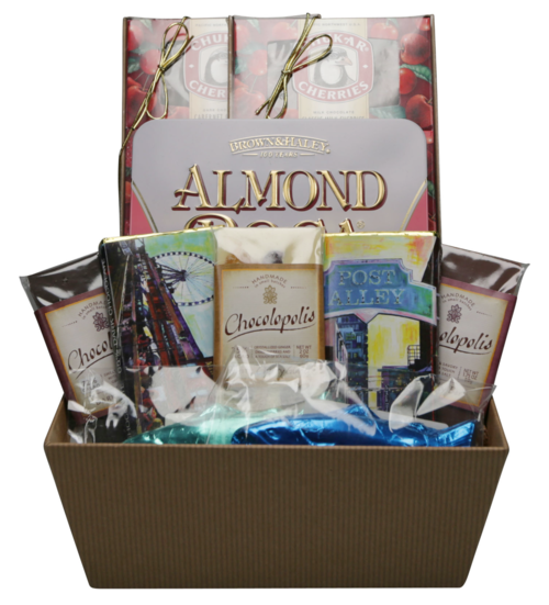 Custom Chocolate Gift Basket Seattle WA