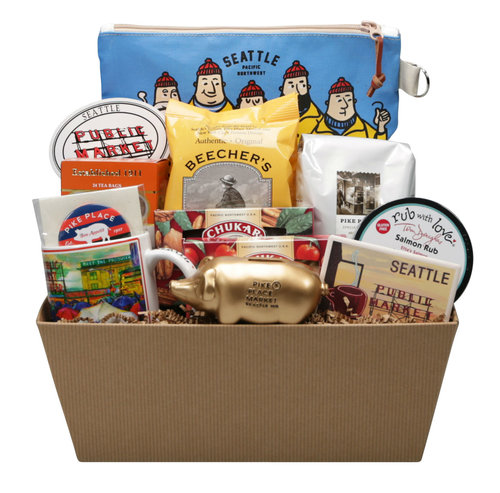 Pike Place Gift Basket Custom Gift Basket Seattle WA