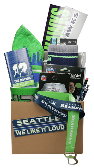 Seahawks Gift Basket Seattle WA