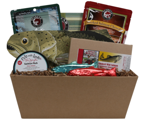 Simply Salmon Gift Basket Seattle WA