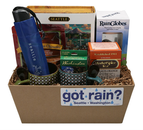 Rainy Day Gift Basket Seattle WA