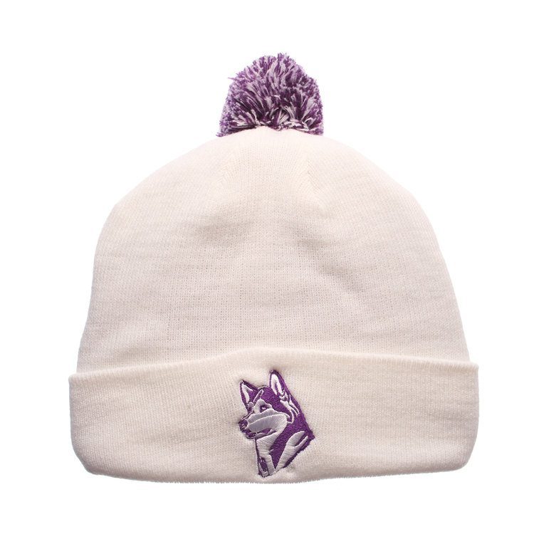 Simply-Seattle-UW-Pom-Knit-White