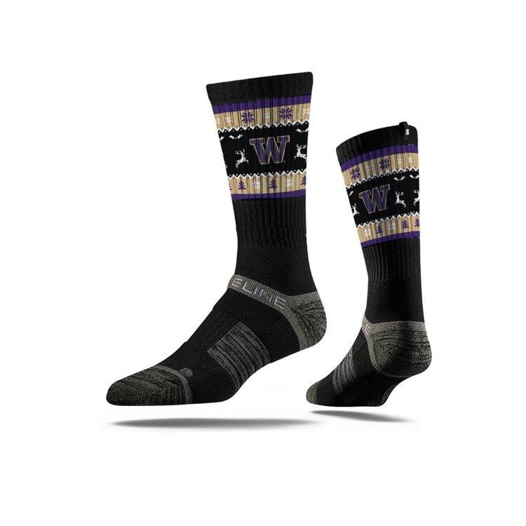 Simply-Seattle-Huskies-Ugly-Chirstmas-Socks