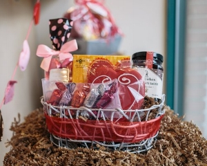 Valentine's Day Sweets & More Essential Gift Basket