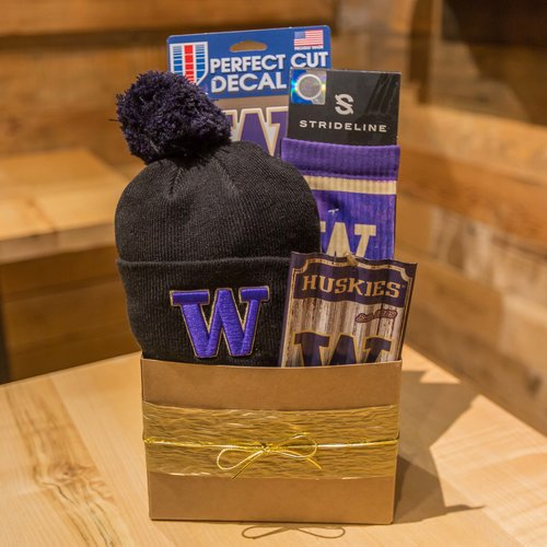 Limited Edition UW huskies Represent Seattle Gift Basket.jpg