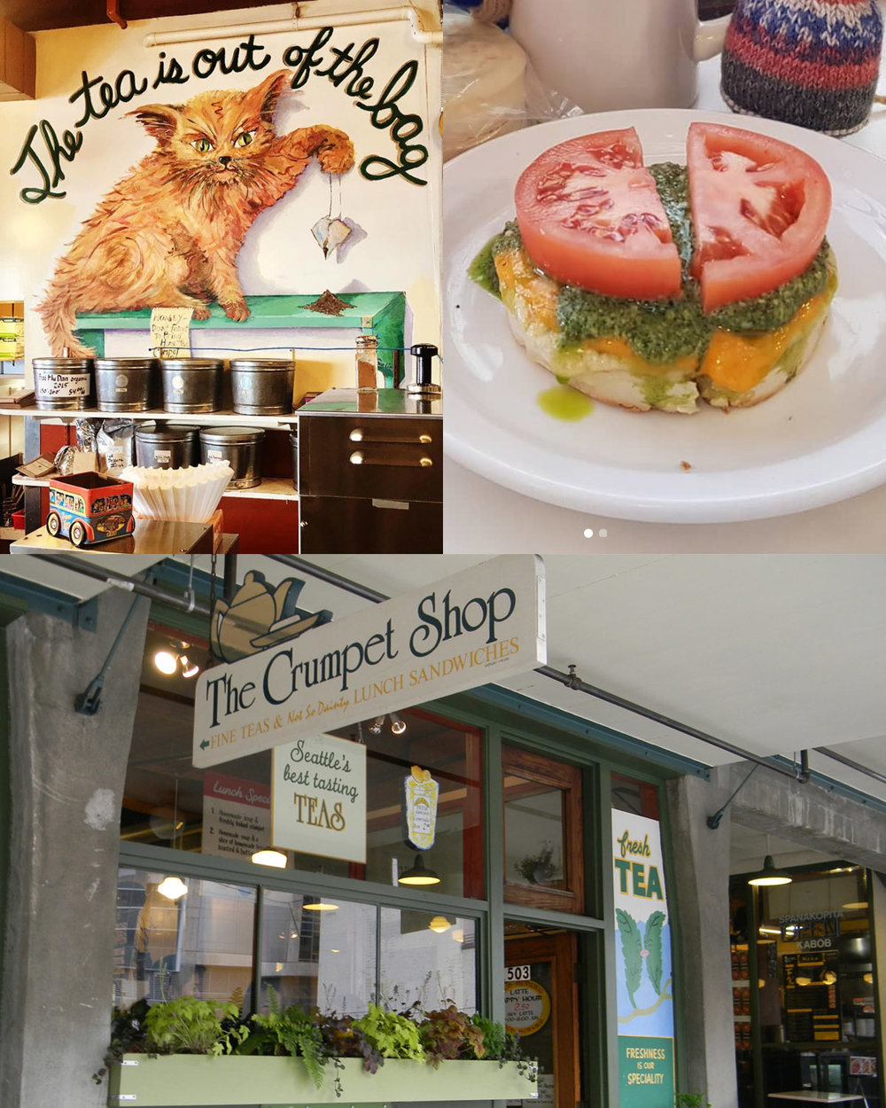 The Crumpet Shop - The Crumpet Shop is a Pike Place market destination.  Fresh crumpets, fine teas, and coffees.