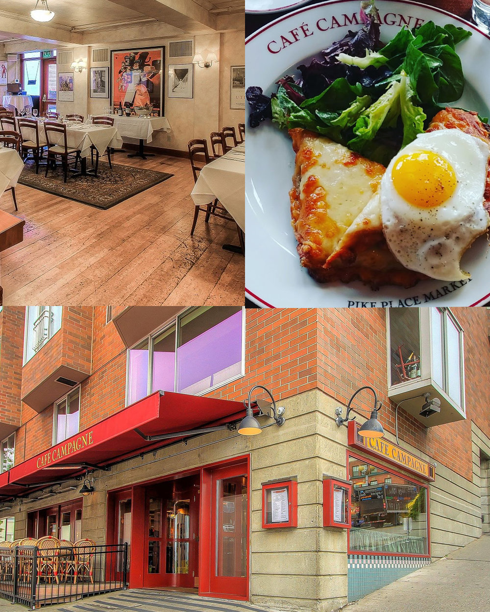Cafe Campagne - The personality of Café Campagne has grown considerably. Initially intended to be the 'casual' eatery the vivacious and approachable Café is now a treasured culinary gem on its own.