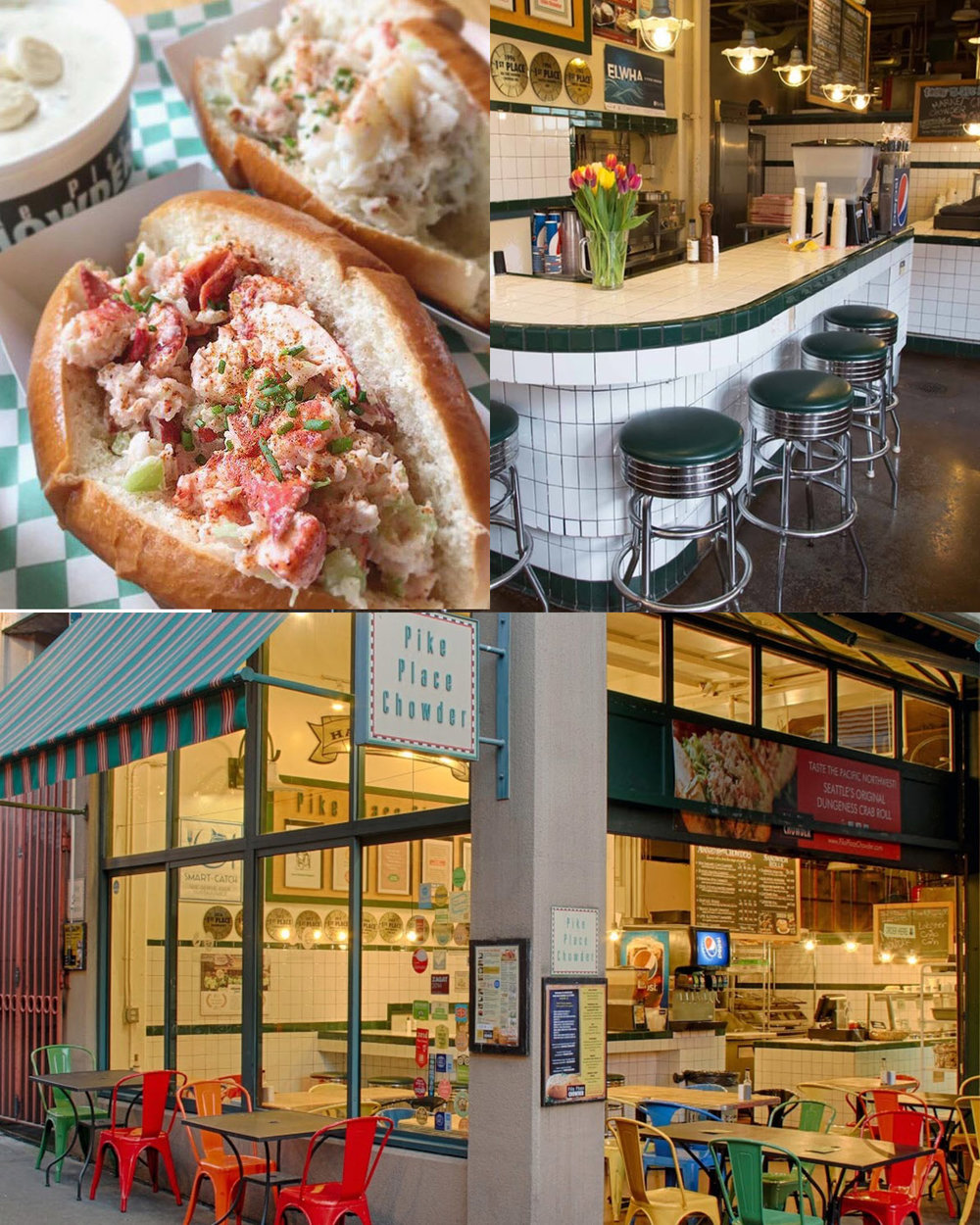 Pike Place Chowder - Seattle's Award-Winning, Hall-of-Fame chowder cafés named America's #1 & Seattle's Best, serving 8 varieties daily.