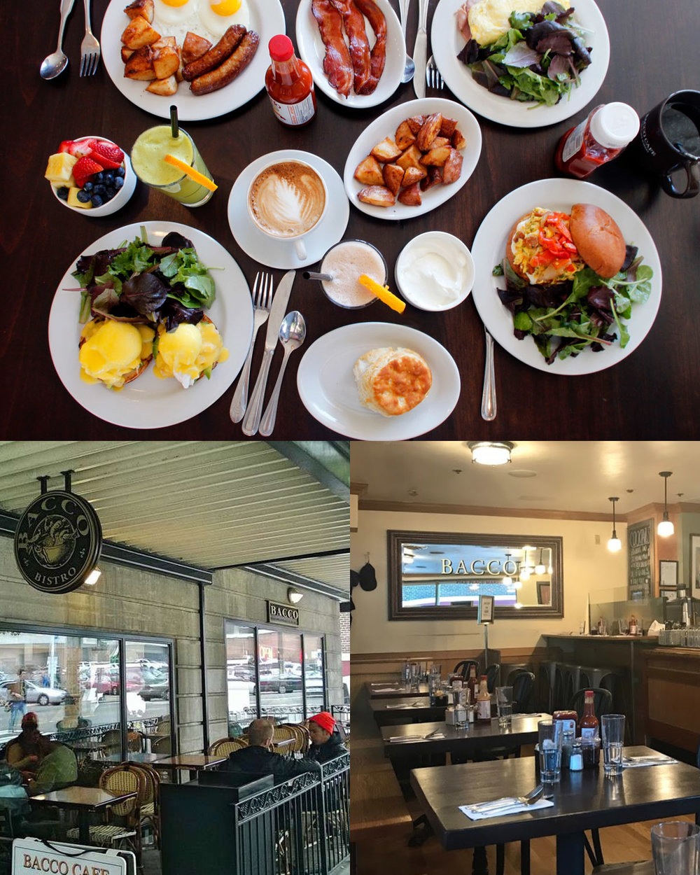 Bacco Cafe - Bacco fuses a mixture of pacific northwest cuisine with modern fare, refreshing the palettes of it's customers in an invigorating nature.