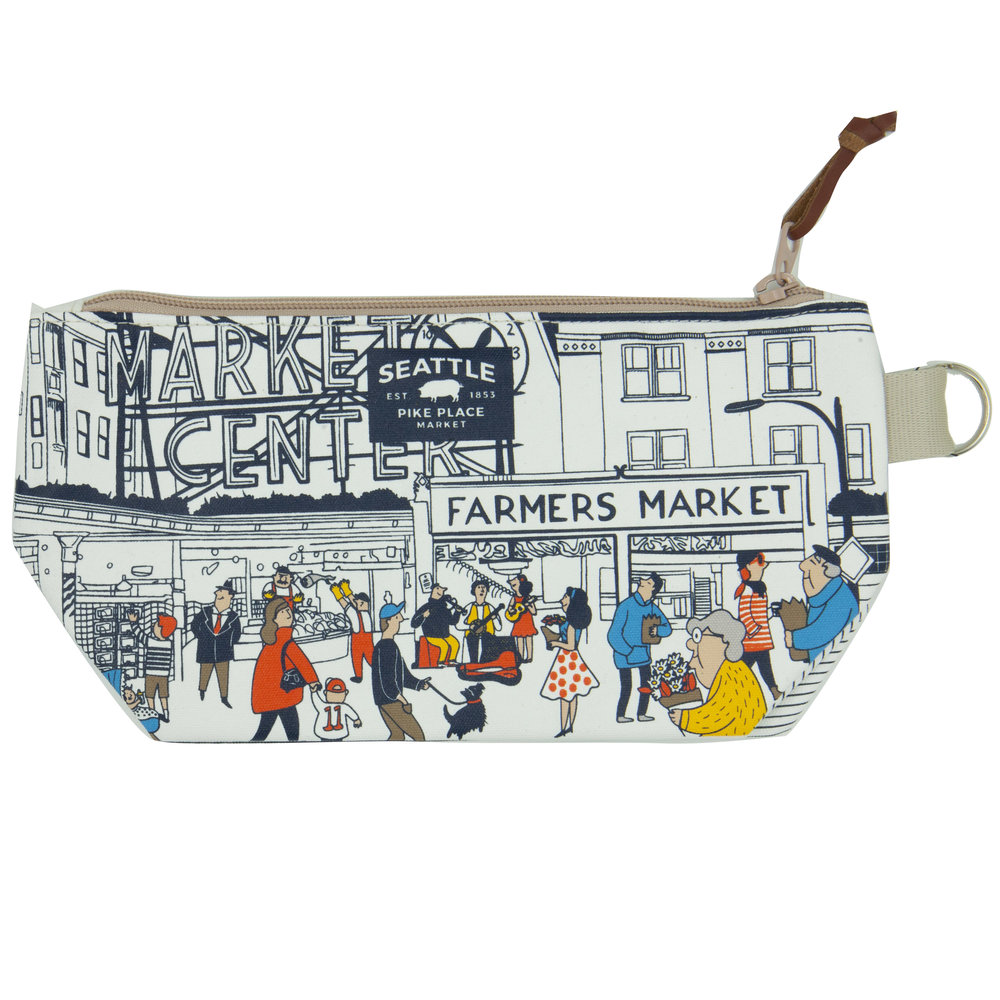 Chalo Pike Place Market White Pouch