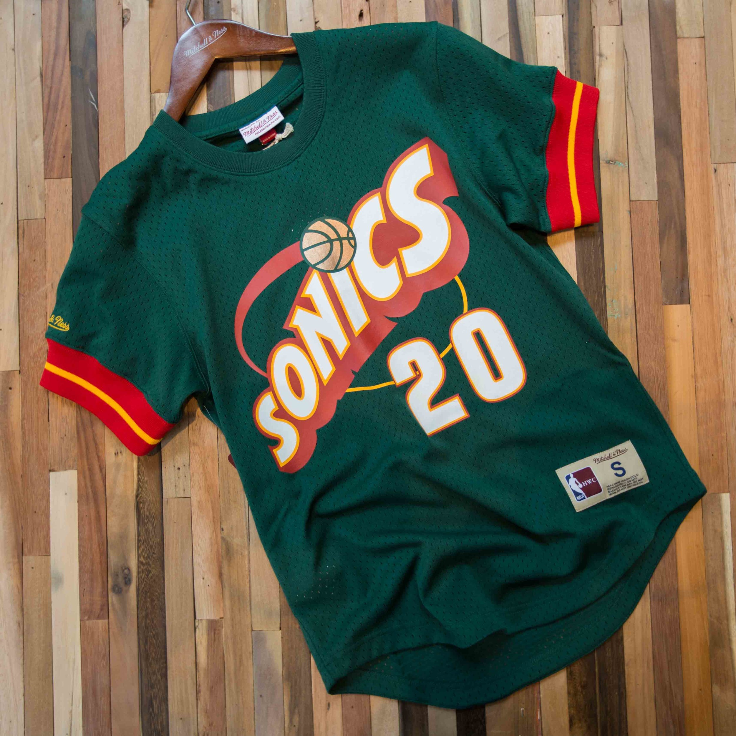 online store 8f2c7 97318 good mitchell ness seattle supersonics gary payton authentic ...