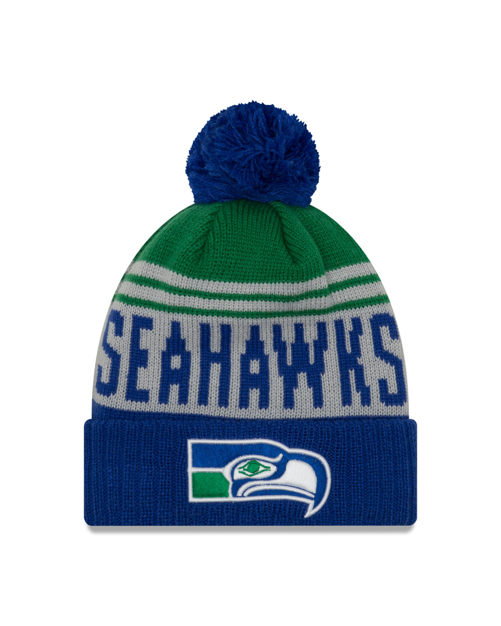 ab8c52986bb ... where to buy seattle seahawks 2018 retro team pride knit beanie 4e019  43957