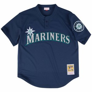 1c987970b1a Ken Griffey Jr. 1995 Authentic Mesh BP Jersey Seattle Mariners