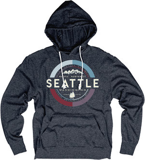21959603ab3dd6 Seattle Life's Better Out West Lightweight Hoodie ...