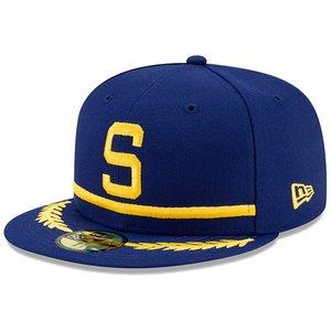 buy online 0d190 d4042 New Era Seattle Pilots MLB Snapback Hat ...