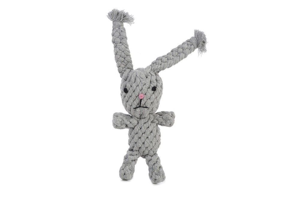 if i have to watch my dog gnaw on something again and again, it's going to be a toy that i like too. this rabbit by jax and bones makes us both happy. get it  here.