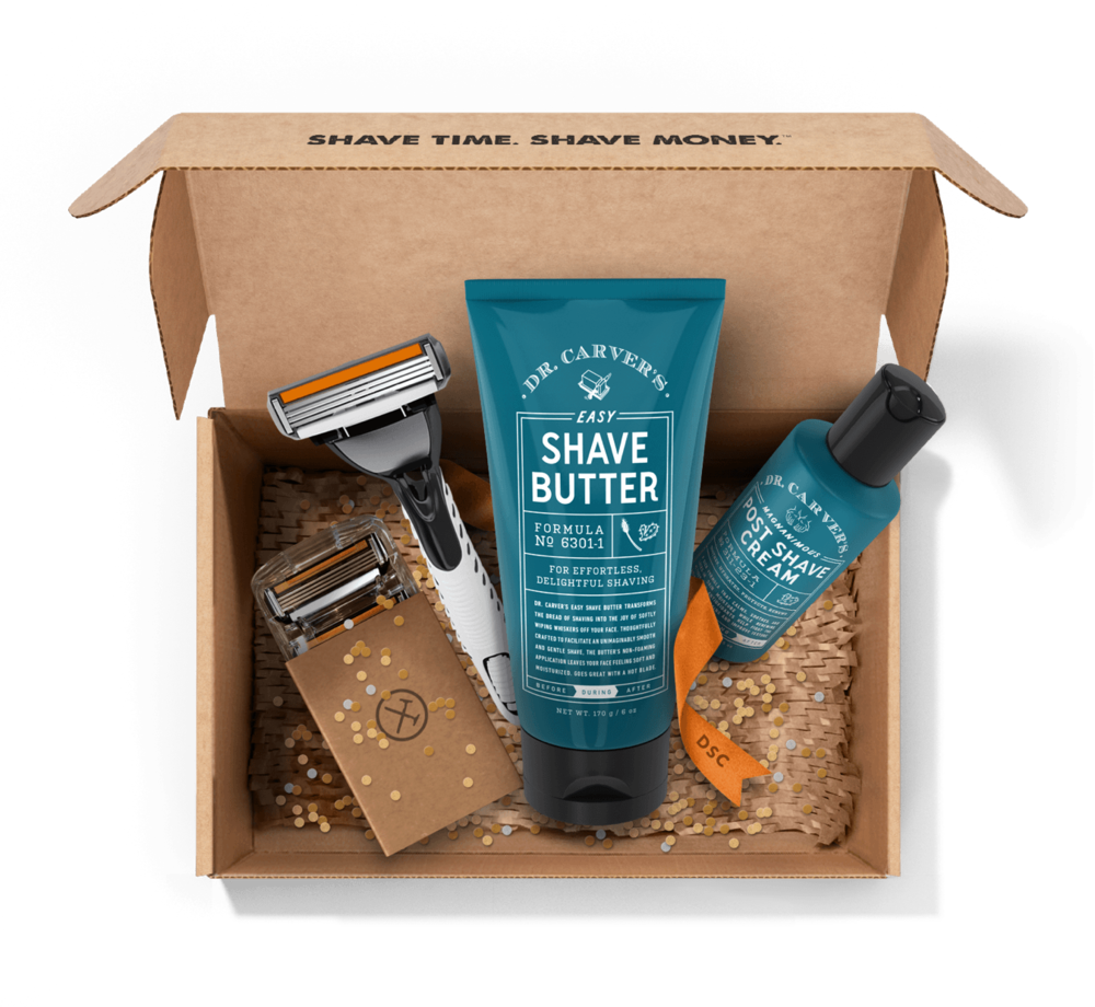 i will not pretend to understand the intricacies of shaving one's face every day, but this is worth trying. if i weren't a waxer, i would be all in. membership at dollar shave club. try it  here.