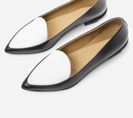 i ordered these as soon as i saw them. they won't arrive until april (waitlisted), but i'm a mom, so patience is part of my skillset. classic and fun together. by everlane. order yours here.