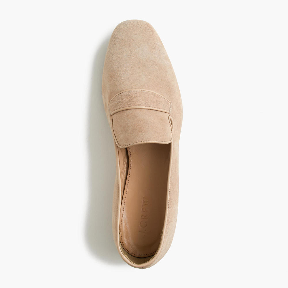 a perfect starter pair; neutral color, traditional shape, just enough modern. i picked this one to showcase, but lots of other color choices. by j crew here.