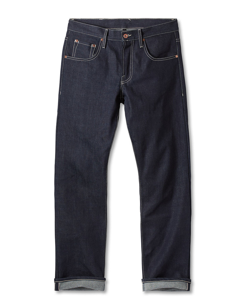 a great pair of jeans on a guy is priceless. these are a solid choice from  dyer & jenkins.  also quite good,  these  from gap.