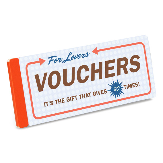 "just the word ""voucher"" in the context of lovers makes me giggle. and won't it be fun to see when and where he tries to cash them in? by knock knock. get them  here  or  here."