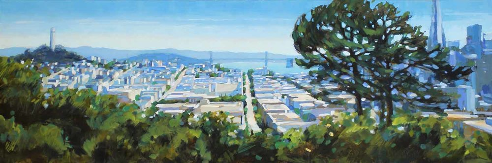 Eastward View from Russian Hill