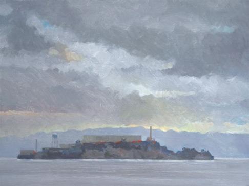 Clearing Storm, Alcatraz