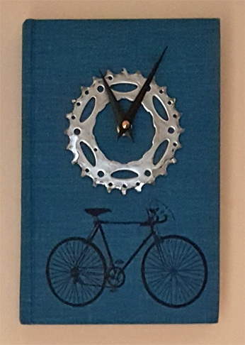 Complete Book of Bicycling Clock