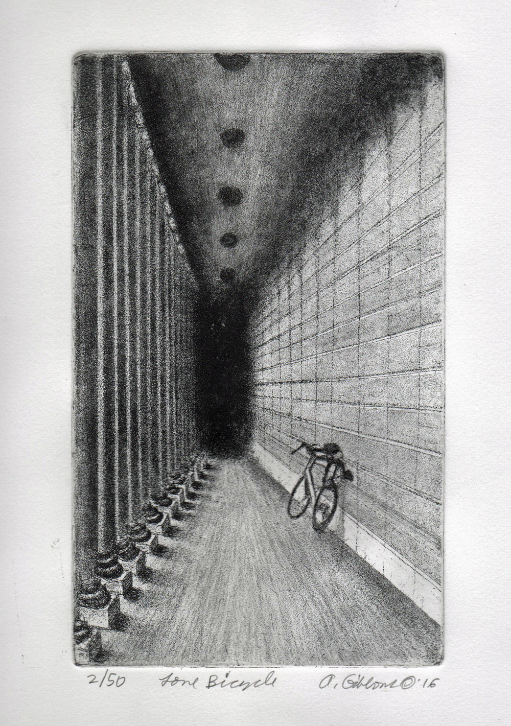 Lone Bicycle (Legion of Honor)