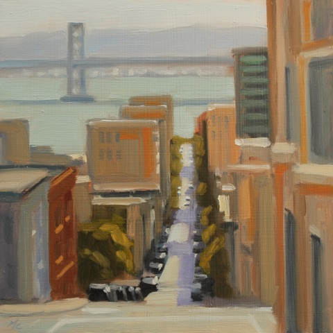 Washington Street (plein air)