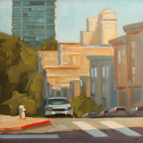 Washington and Jones (plein air)