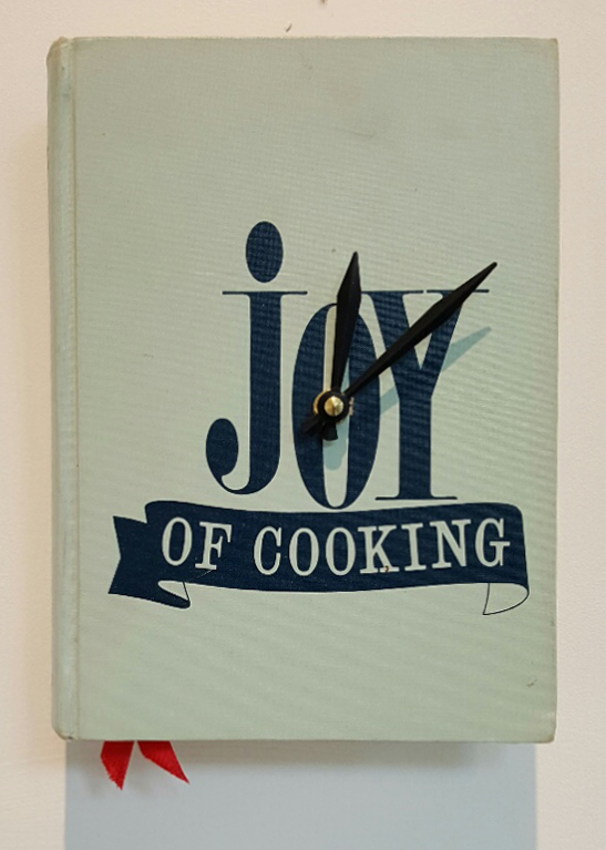 Joy of Cooking Clock