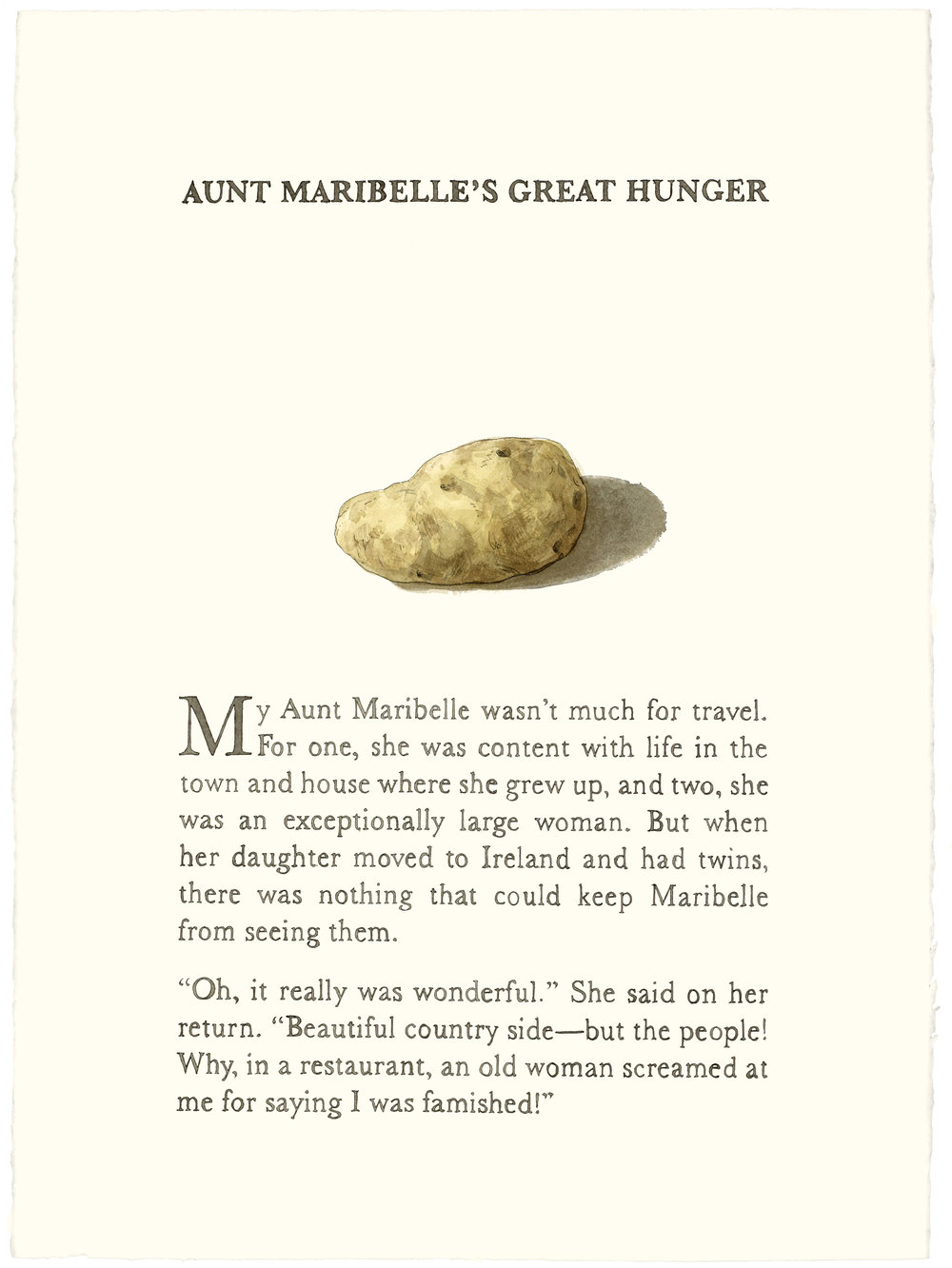 Aunt Maribelle's Great Hunger