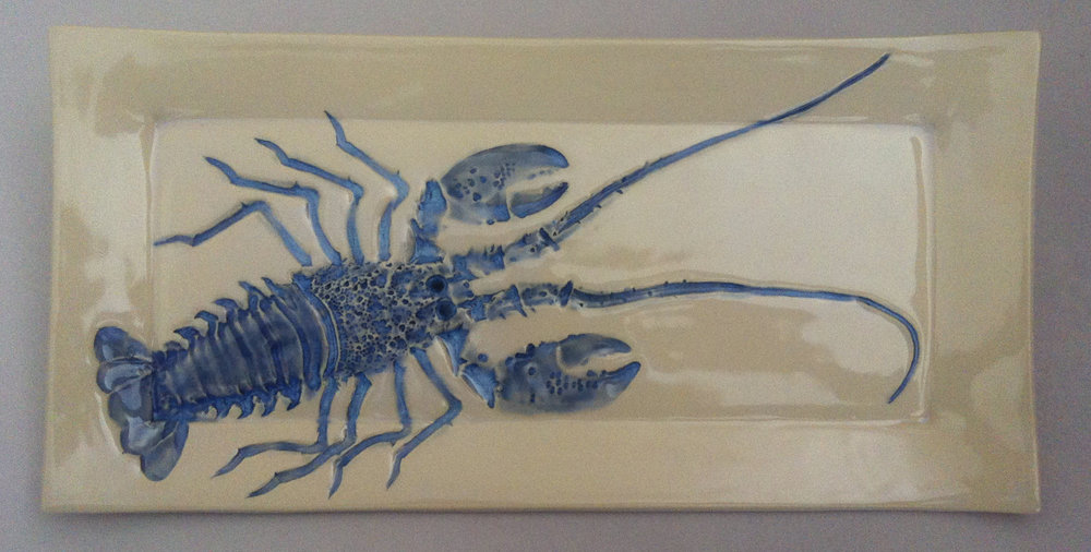 Blue Lobster Plate