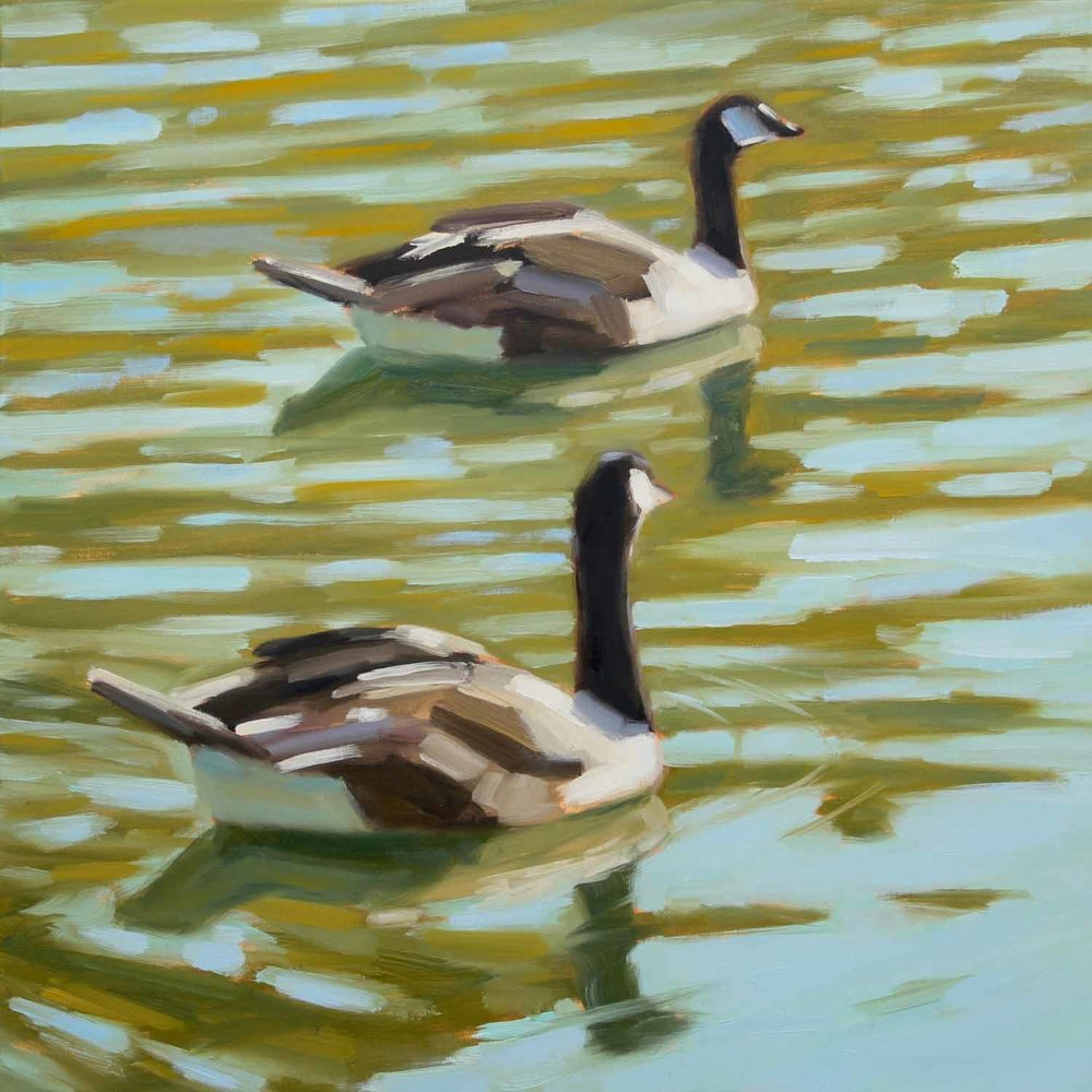 Stow Lake Geese