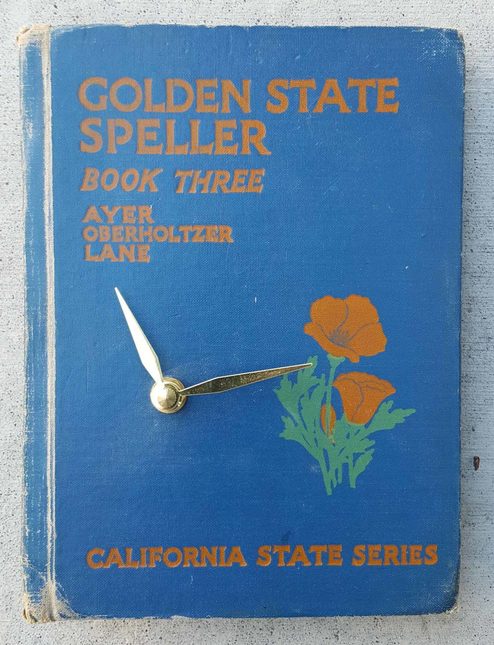 Golden State Speller Clock