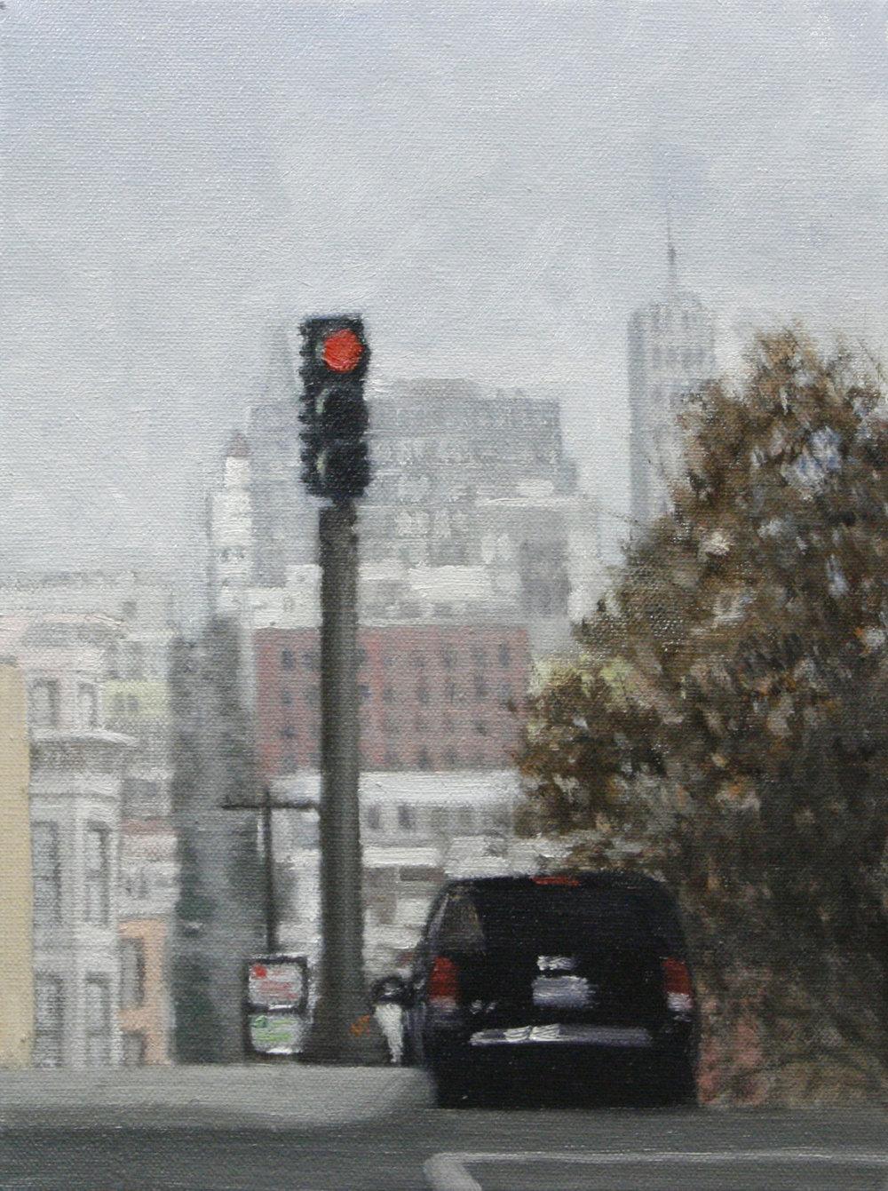 """by Nobuhito Tanaka, oil on canvas, 9"""" x 12"""" - $475 framed"""