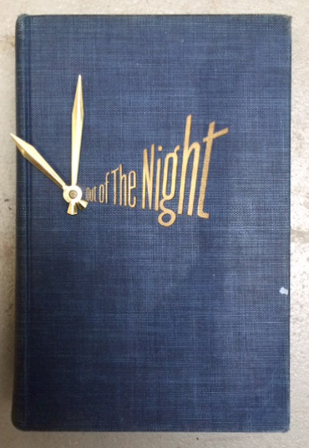 Out of the Night Book Clock