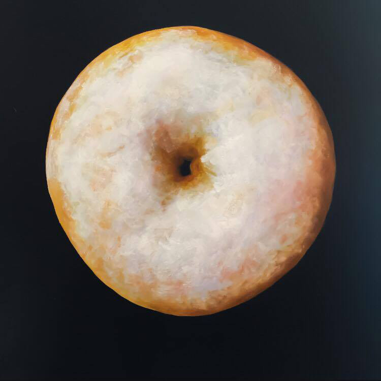 Full Moon Donut